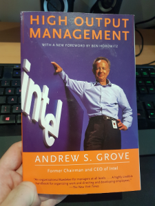 High Output Management Andrew Grove